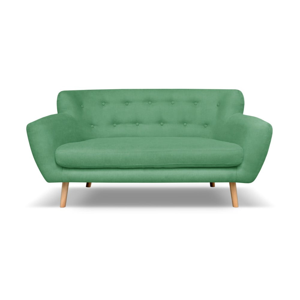 Zelená pohovka pro tři Cosmopolitan design London