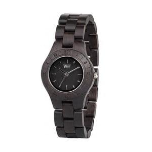 Dámské dřevěné hodinky Moon Black