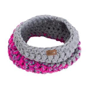 Eșarfă rotundă tricotată manual DOKE Kathy