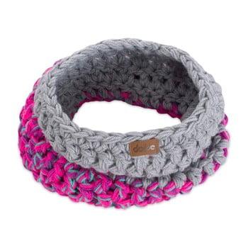 Eșarfă rotundă tricotată manual DOKE Kathy imagine