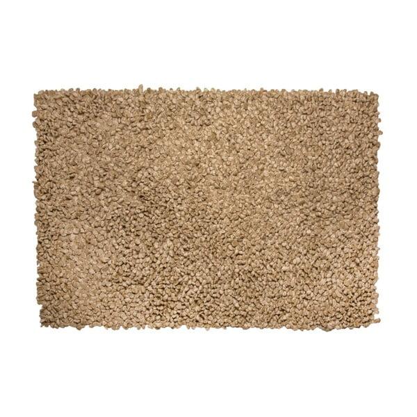 Koberec Velvet 160x230 cm, hnědý
