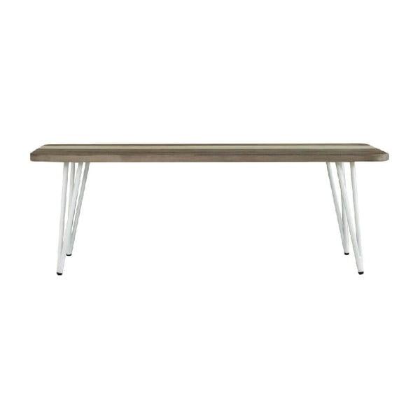 Niza akácfa étkezőasztal, hosszúság 120 cm - sømcasa