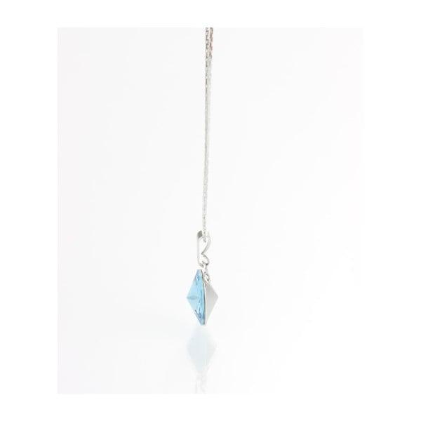 Náhrdelník Swarovski Simple Aqua, 45 cm
