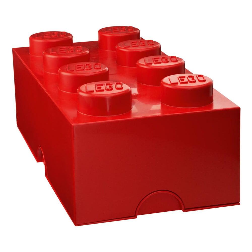 Červený úložný box LEGO®