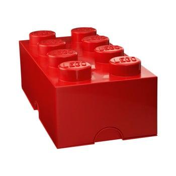 Cutie depozitare LEGO®, roșu de la LEGO®
