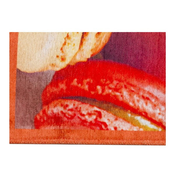 Vysoce odolný kuchyňský koberec Webtappeti Macarons, 60x220 cm