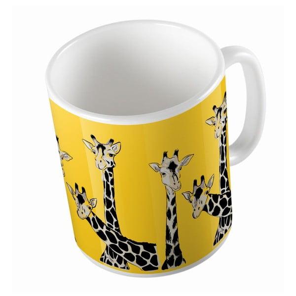 Keramický hrnek Butter Kings Friendly Giraffes, 330 ml