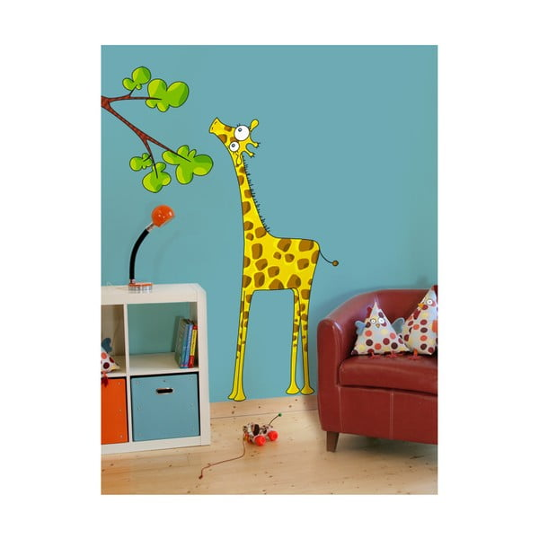 Samolepka Madam giraffe