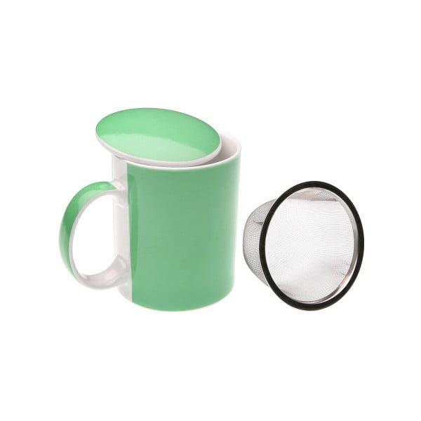 Zielony kubek z sitkiem Versa Green Tea Mug