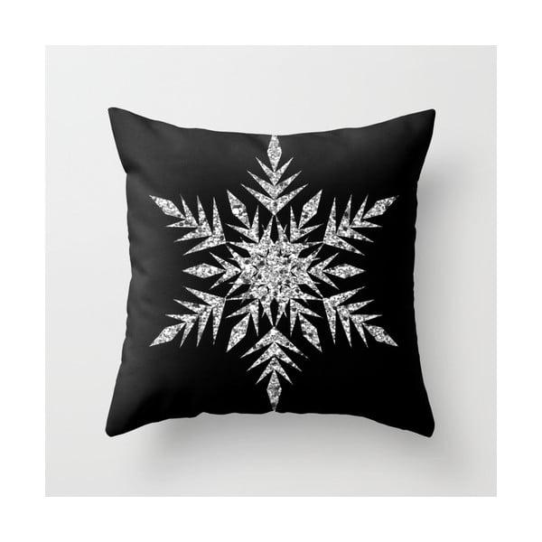 Povlak na polštář Snowflake Silver, 45x45 cm