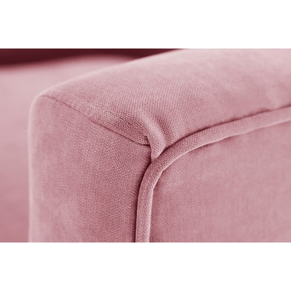 Pudrově růžové křeslo Jalouse Maison Kylie