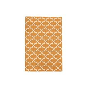 Ručně tkaný koberec Kilim Orange Design, 160x230 cm