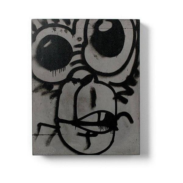 Monkey beton falikép - Lyon Béton