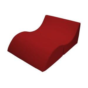 Červené variabilní lehátko/stolek 13Casa Cleo