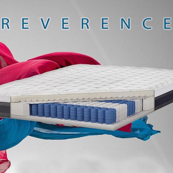 Postel s matrací a čelem Novative Reverence, 160x200cm