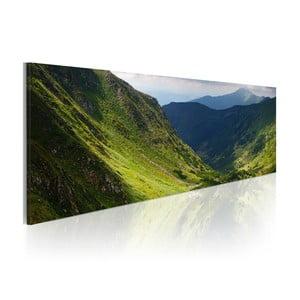 Obraz na plátně Artgeist Calm Landscape, 120x40cm