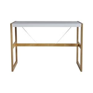 Bílý jídelní stůl Marckeric Square, 140 x 104 cm