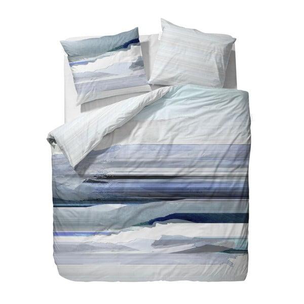 Povlečení Essenza Mooa Blue, 200x200 cm