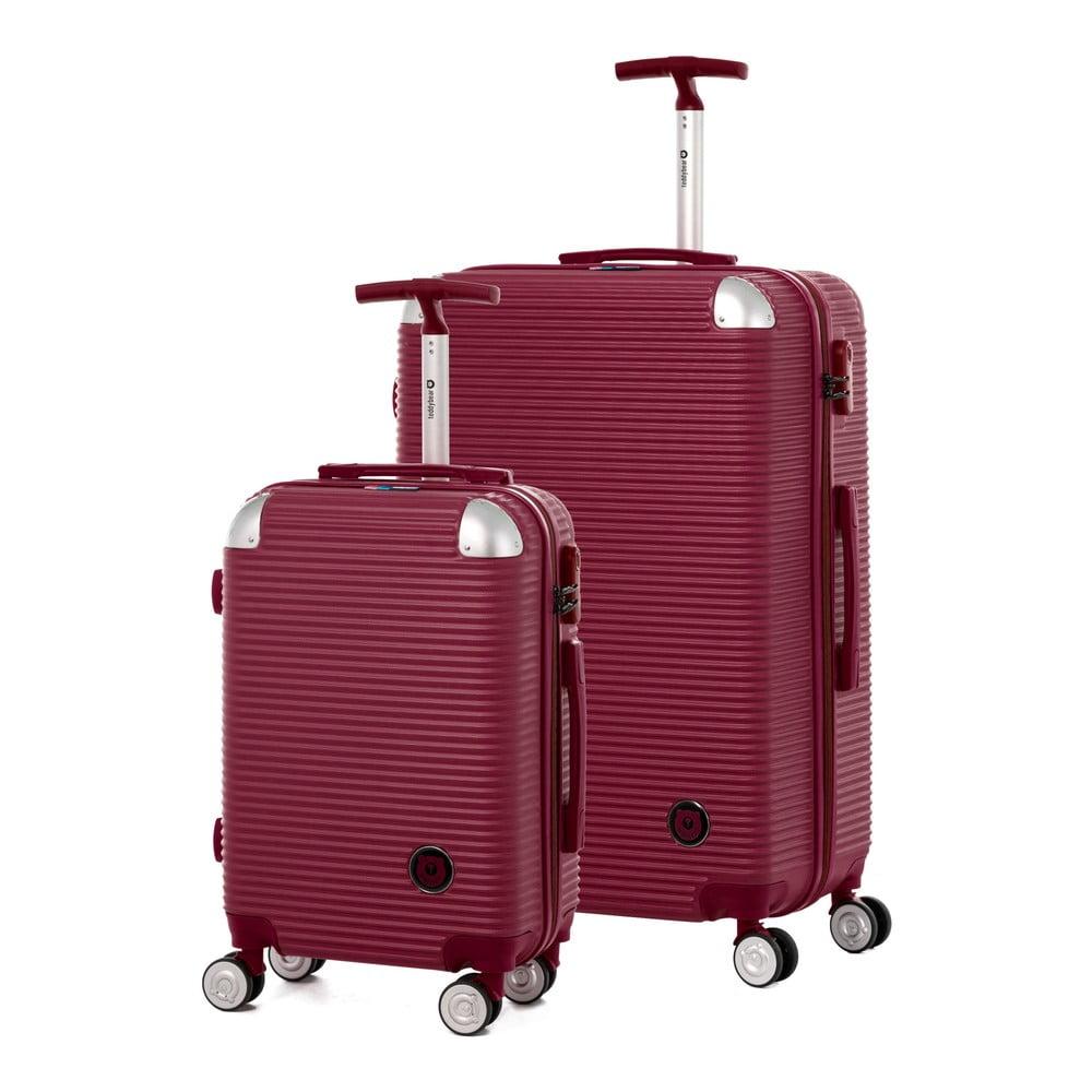 Sada 2 cestovních kufrů na kolečkách Teddy Bear Faina