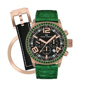 Dámské hodinky Marc Coblen s páskem a kroužkem navíc P800