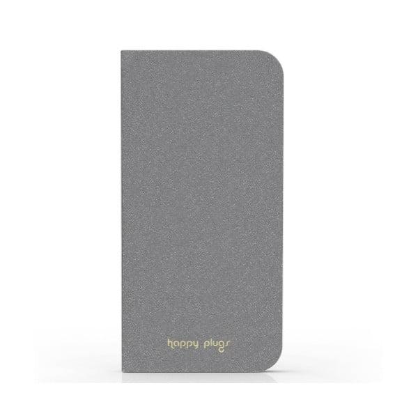 Překlápěcí obal Happy Plugs na iPhone 6, šedý