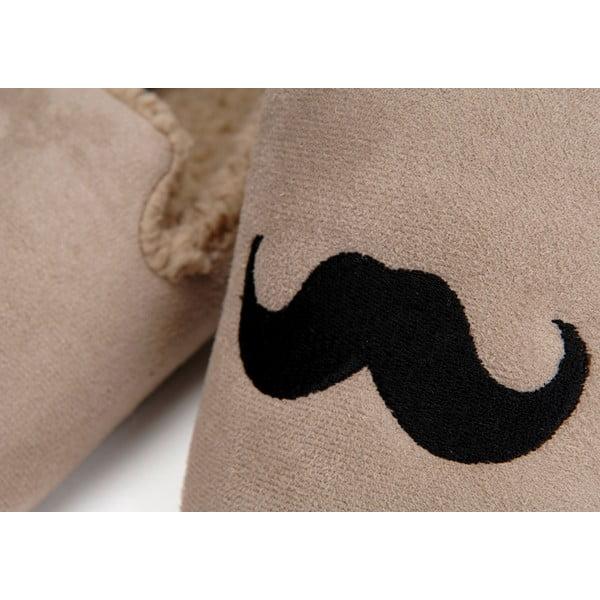 Papuče Moustache Taupe, vel. 42/43
