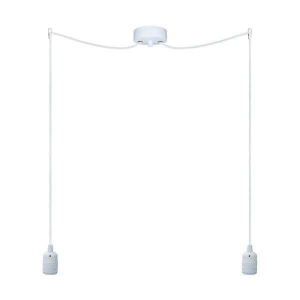 Dva závěsné kabely Uno, bílý/bílý