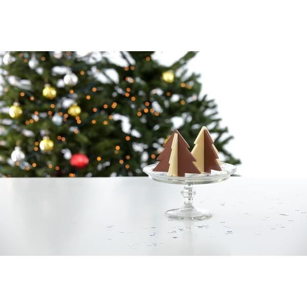 Silikonová forma na 3D vánoční strom z čokolády, malý