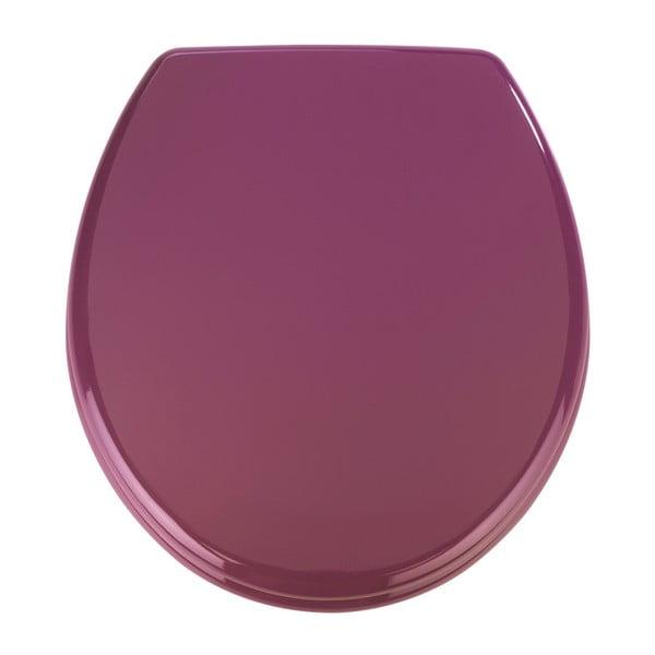 Capac WC din lemn Wenko Prima, 41 x 38 cm, violet