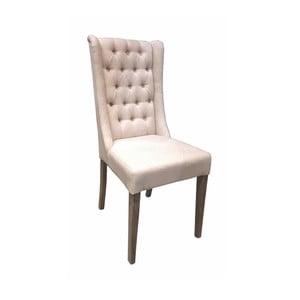 Bílá židle s bavlněným potahem Miloo Home Andover
