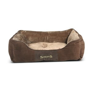 Psí pelíšek Chester Bed L 75x60 cm, čokoládový