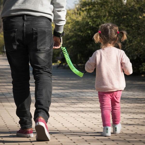 Dětské bezpečnostní vodítko s náramkem InnovaGoods Security Bracelet