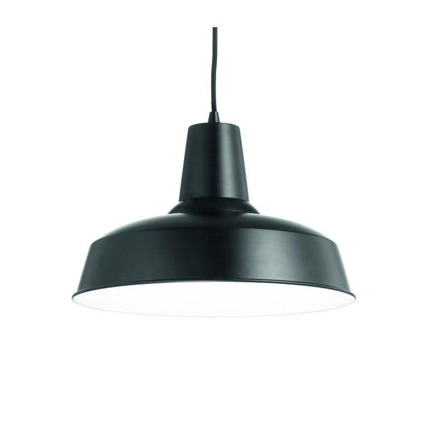 Černé závěsné svítidlo Evergreen Lights Industro