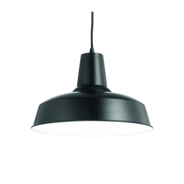Czarna lampa wisząca Evergreen Lights Industro