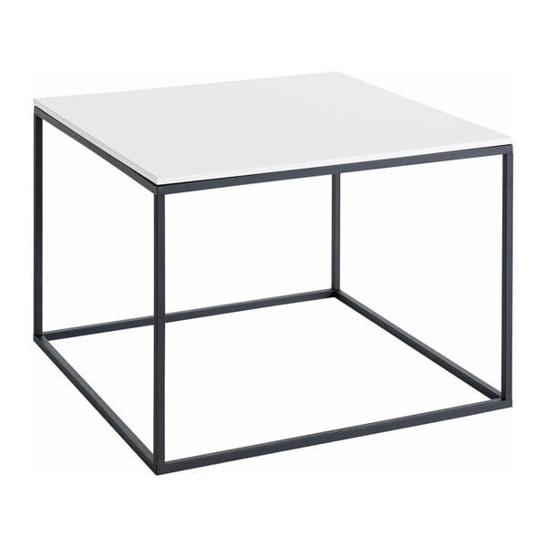 Konferenčný stolík s bielou doskou Støraa Castana, šírka 50 cm