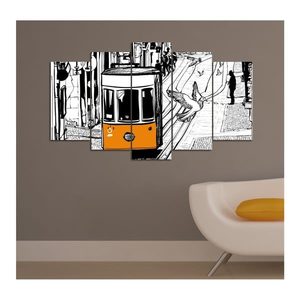 Vícedílný obraz Insigne Lasmitto, 102x60cm