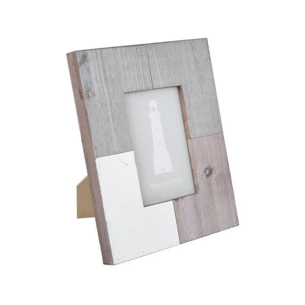 Quatro szürke-fehér képkeret, 20 x 25,3 cm - Ego Dekor