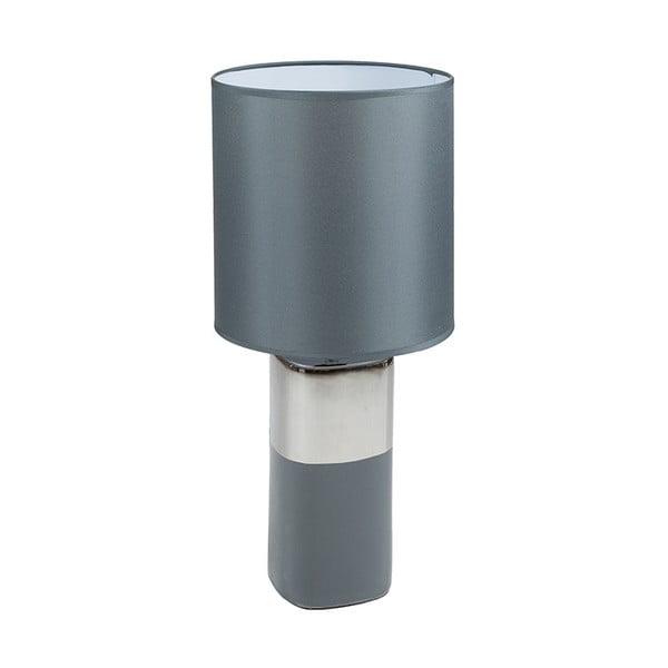 Šedá keramická stolní lampa Santiago Pons Cosmo, výška54cm