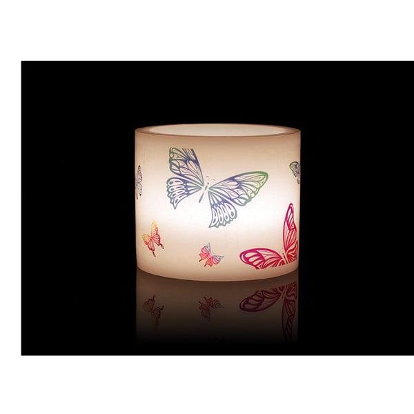 Kruhový svícen na čajovou svíčku Butterfly