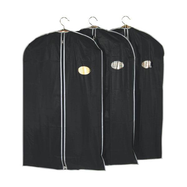 Sada 3 obalů na oblečení Closed, 60x100 cm