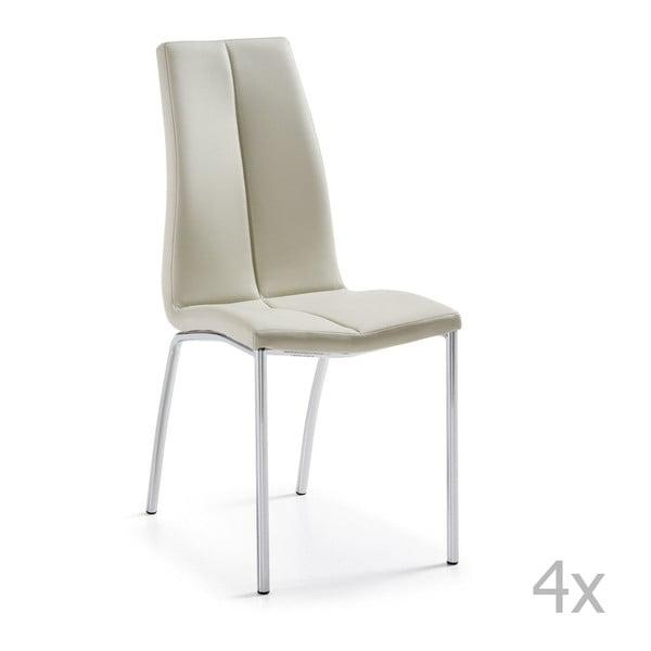 Sada 4 židlí La Forma Falcon