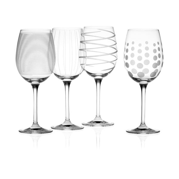 Sada 4 sklenic na bílé víno Mikasa, 450 ml