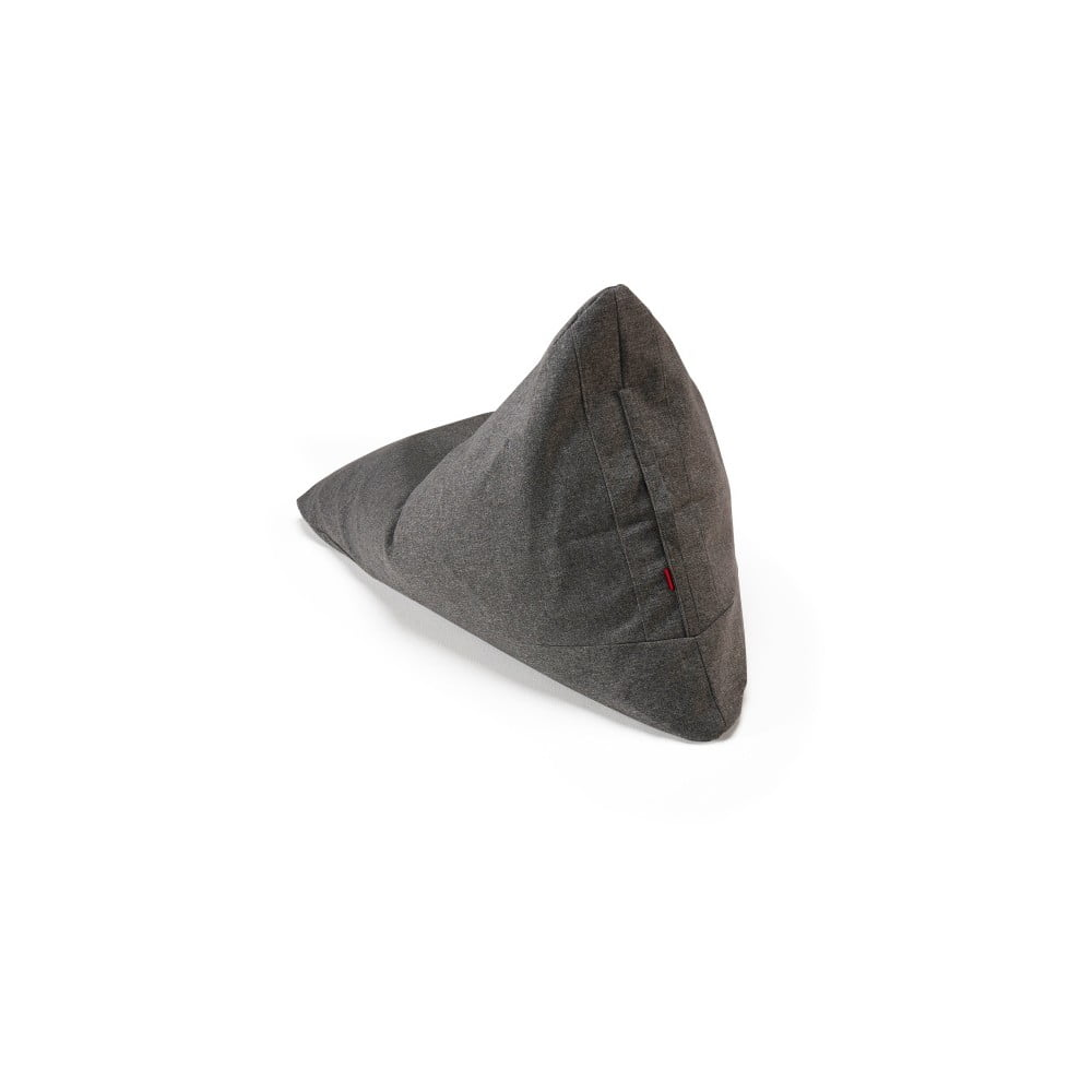 Šedý sedací vak Innovation Soft Peak Twist Charcoal