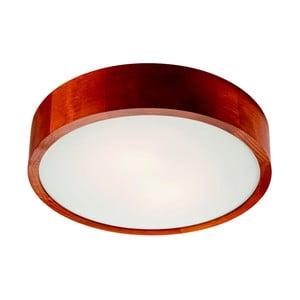 Hnědé kruhové stropní svítodlo Lamkur Plafond, ø 37 cm