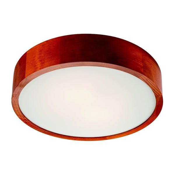 Brązowa okrągła lampa sufitowa Lamkur Plafond, ø 37 cm