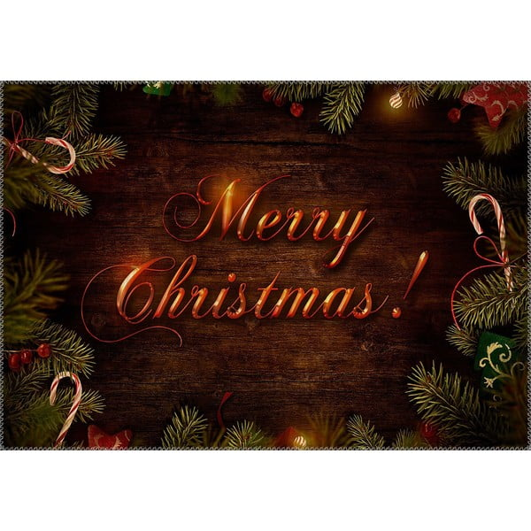 Covor Vitaus Christmas Period Glowing Sign, 50 x 80 cm