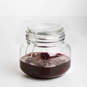 Sklenice Glass Jar, 800 ml