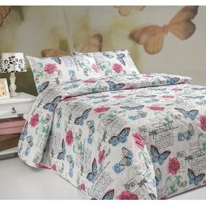 Sada prošívaného přehozu přes postel a polštáře Single 181, 160x220 cm