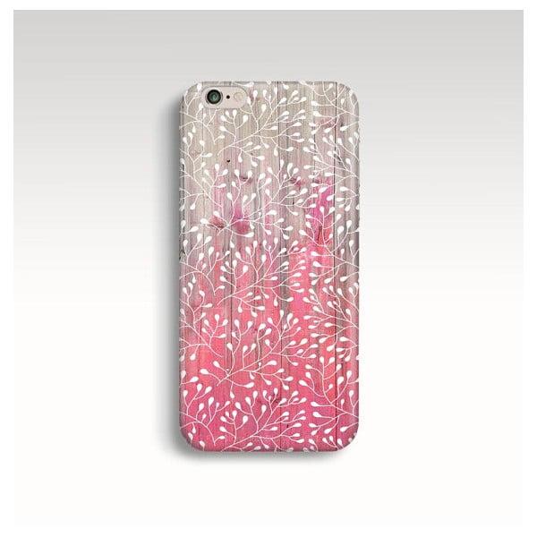 Obal na telefon Wood Blossom II pro iPhone 6/6S