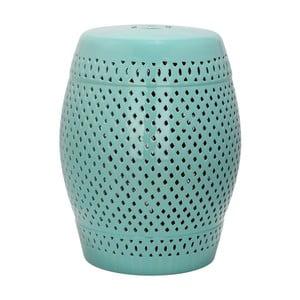 Tyrkysový keramický stolek Safavieh Diamond